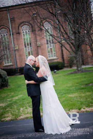 Evansville Indiana Winter Wedding, United Methodist Church