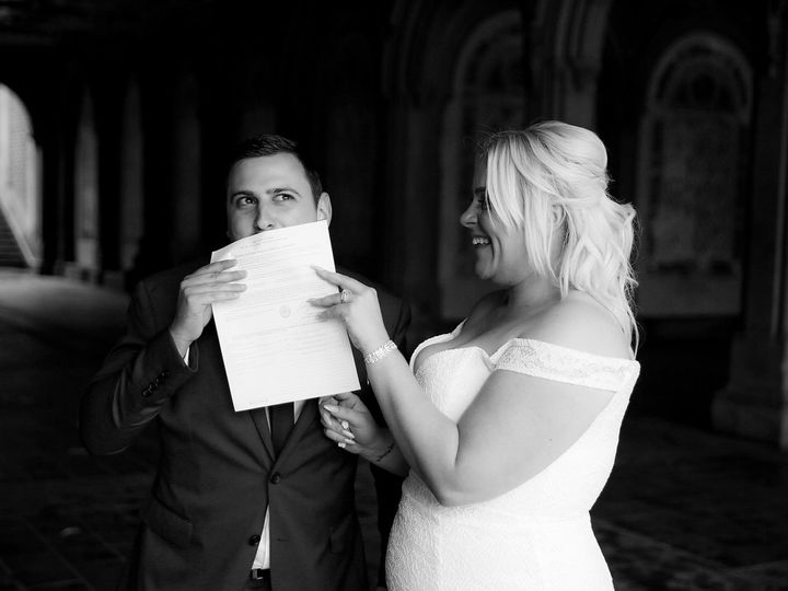 Tmx 1498597046757 Always Kiss The Licence2 New York, NY wedding officiant