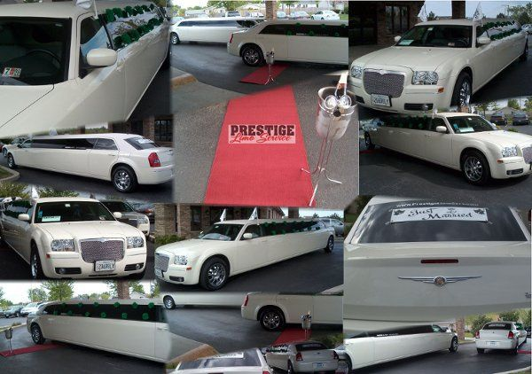 Our Chrysler 300 Limousines in a 2 car wedding