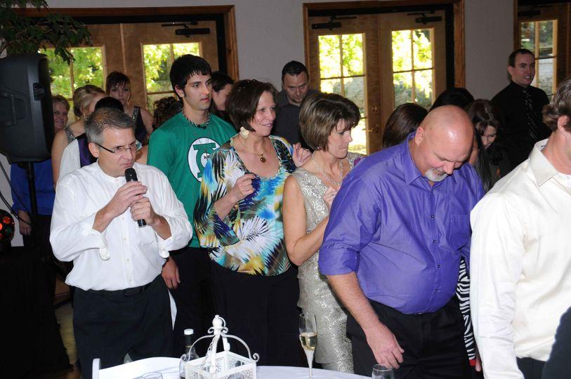 Teaching a line dance