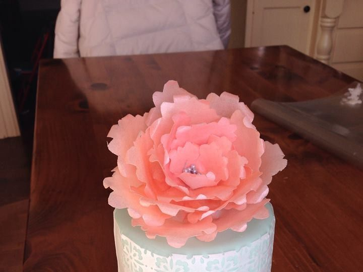 Tmx 1414696107449 Blessings Bakery 3 Orchard Park, New York wedding cake