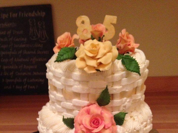 Tmx 1414696314091 Blessings Bakery 9 Orchard Park, New York wedding cake