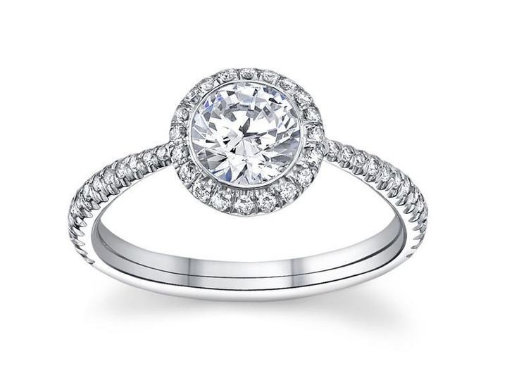 Tmx 1380902897418 S.halo With Shoulders Roswell wedding jewelry