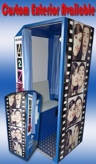 Sample of Customized Exterior of Photo Booth