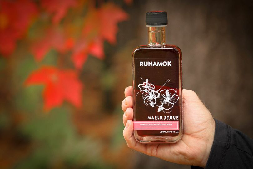 Runamok Maple 250ml bottles, available in barrel-aged, infused and smoked varieties