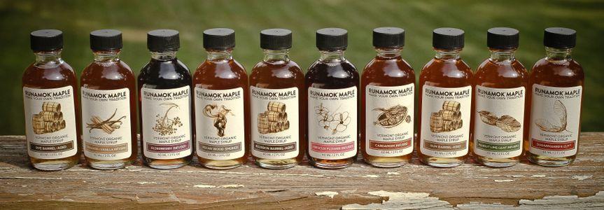 Runamok Maple 60ml Bottle Lineup: