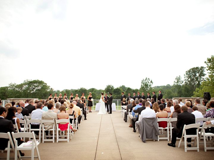 Tmx 1413485239546 Ceremony Patio 4 Fishers, IN wedding venue
