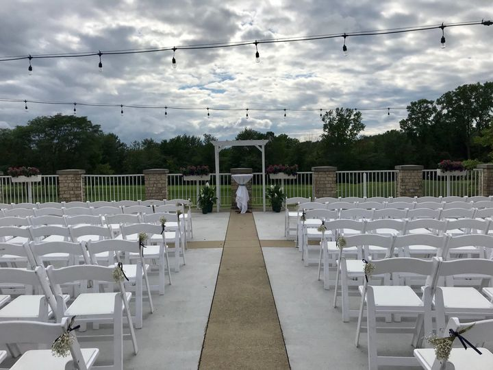 Tmx 1531151189 696966cf957b28ac 1531151186 B6ca4eda8d8943ef 1531151135316 14 Terrace Ceremony Fishers, IN wedding venue