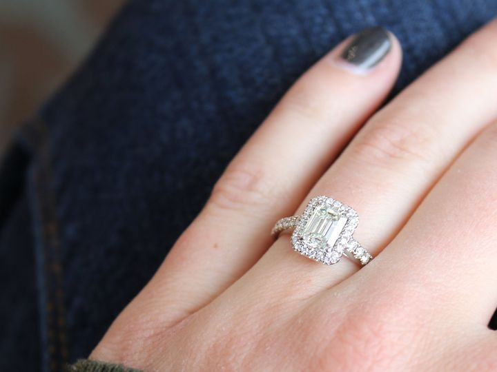 Tmx Emerald Cut Forevermark 51 326510 Saint Paul wedding jewelry