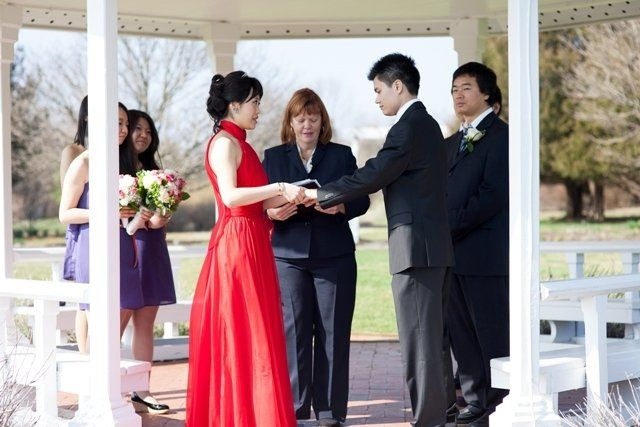 Tmx 1349103383273 MeMinandYananWangMarch2012 Somerset, New Jersey wedding officiant
