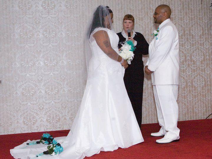Tmx 1349103514367 RhondaandSaunHoltAp292011 Somerset, New Jersey wedding officiant
