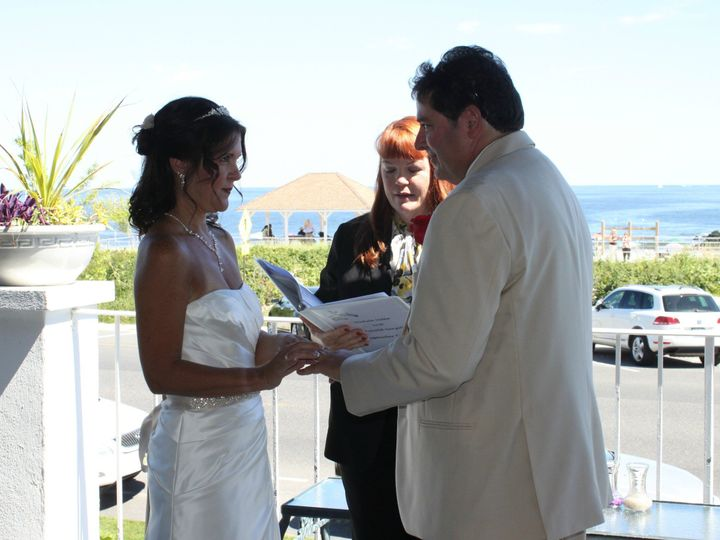 Tmx 1396025696100 Michele And Ron 3 Sept 7 201 Somerset, New Jersey wedding officiant