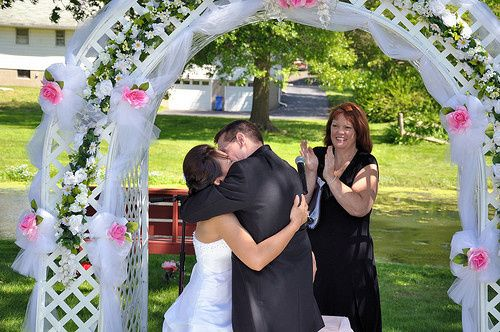 Tmx 1396276651325 Gould Wedding 7 May 15 201 Lebanon, NJ wedding officiant