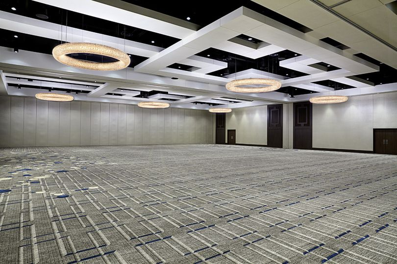 Empty Diamond Ballroom