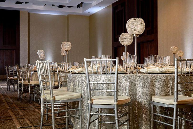 Luxury ballroom
