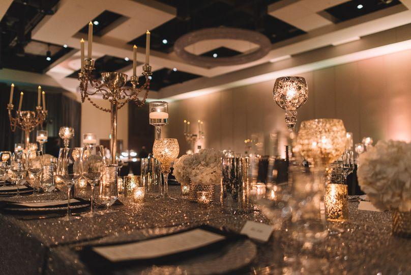 Glamorous ballroom