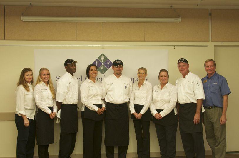 Sanibel Catering staff