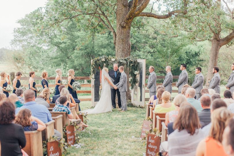 Wedding Ceremony at the Green