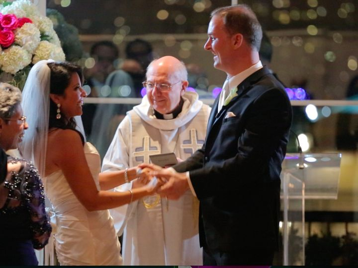Tmx 1478961125548 Connie Josh Ceremony Laughing Yes 2 Christiansburg wedding officiant