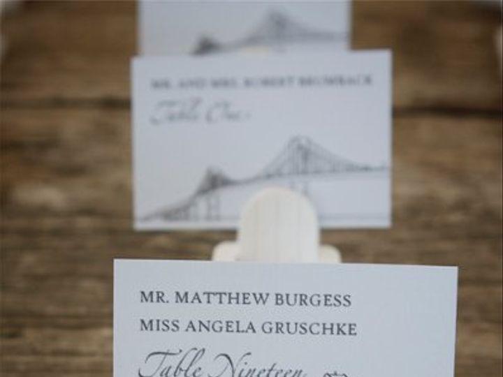 Tmx 1254158300940 Placecards2 Portsmouth, RI wedding invitation