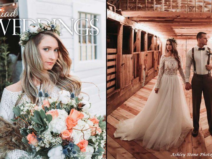 Tmx Cover Spread Tw 51 412610 Greensboro, North Carolina wedding dress