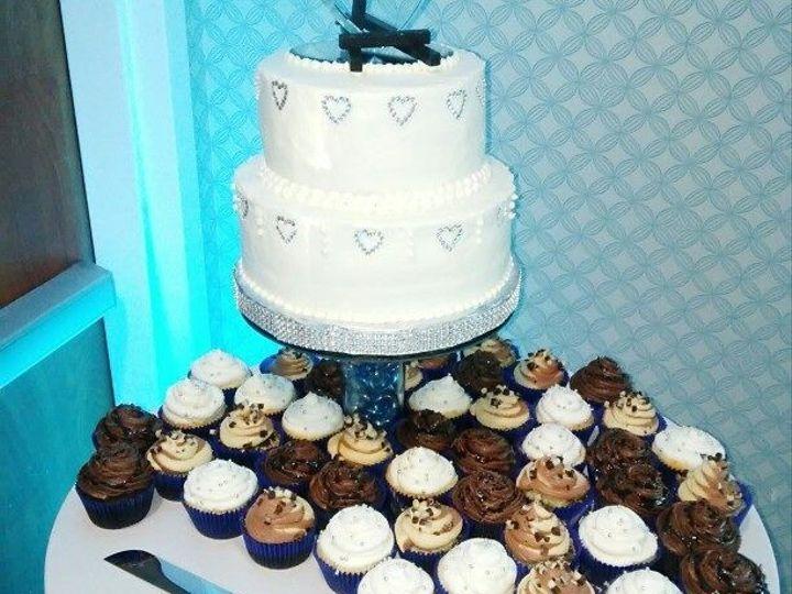 Tmx 1456154428447 Wedding Cake And Cupcakes Norfolk wedding cake