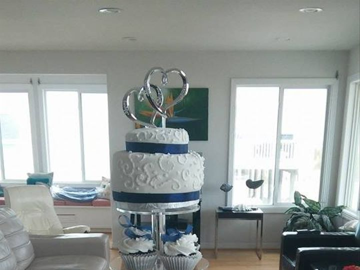 Tmx 1456154434070 Wedding Tower Norfolk wedding cake
