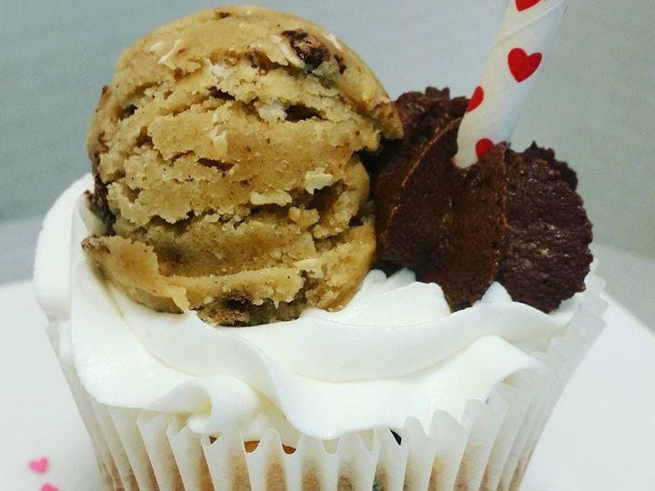 Tmx 1483197839029 Cookie Dough Cupcakes Norfolk wedding cake