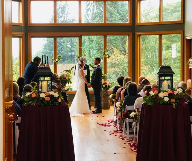 Beautiful intimate vows
