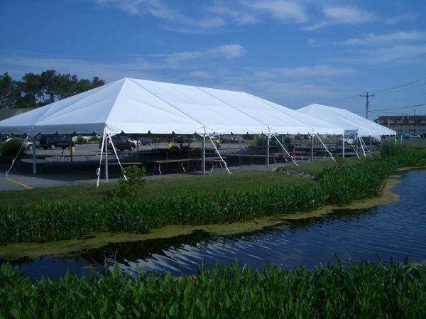 Two 40x80 Tents Taste Of Delmarva Bethany Beach, DE