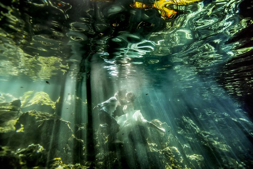 Cenote Playa Del Carmen Wedding