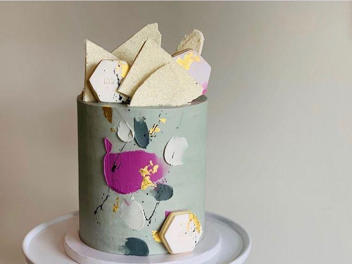 Tmx Abstract Cake 51 163610 1565202576 Kansas City, Missouri wedding cake
