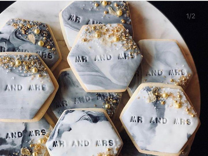 Tmx Custom Wedding Cookies 1 51 163610 157834390153778 Kansas City, Missouri wedding cake