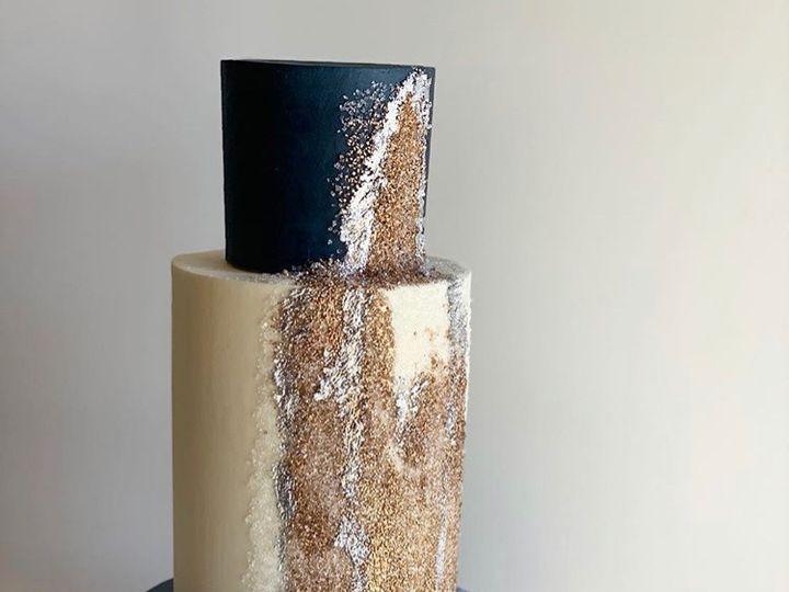 Tmx Glitter Cake 51 163610 1565292330 Kansas City, Missouri wedding cake