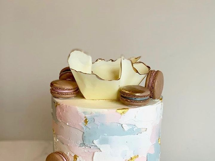 Tmx Pastel Macaron Cake 51 163610 1565292557 Kansas City, Missouri wedding cake