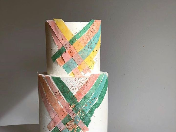 Tmx Summer Woven Cake 51 163610 1565293825 Kansas City, Missouri wedding cake