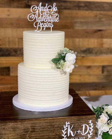 Wedding Cake - Textured