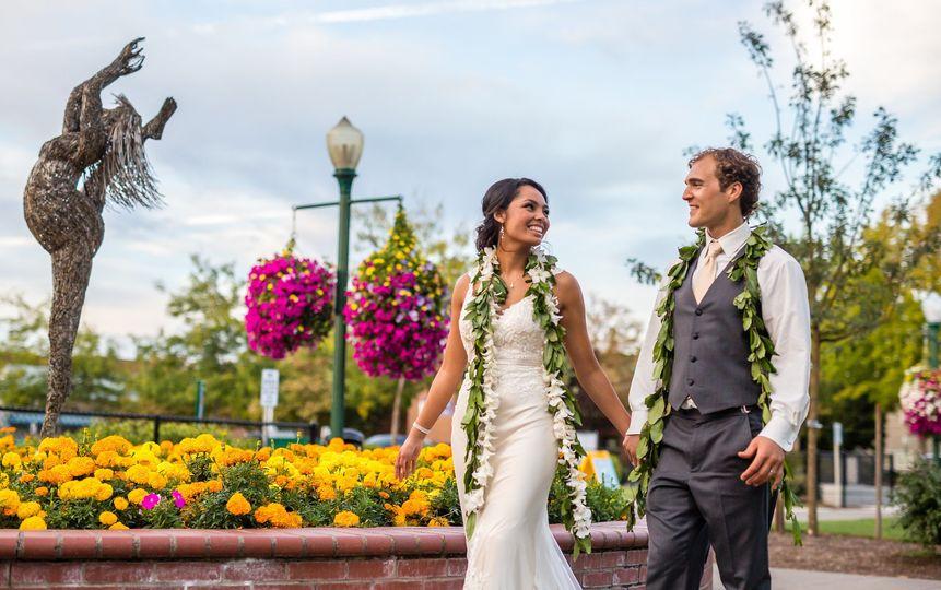 Pioneer Park Pavilion Wedding