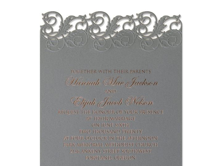 Tmx Perfectly Pewter Invitation Png 51 175610 V1 Lodi, New Jersey wedding invitation