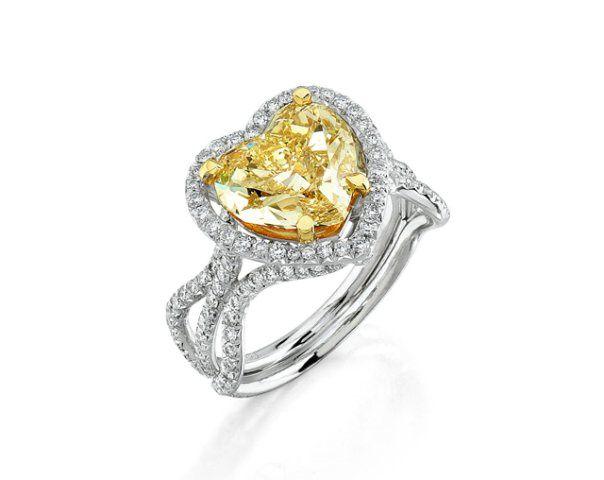 Tmx 1359579562283 GO0028heartshapediamondhalosplitshankringa Dallas wedding jewelry