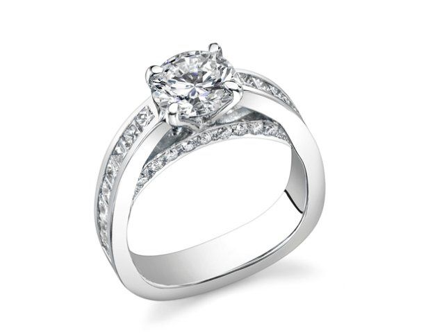 Tmx 1359579582257 QRoundContemShapiroDiamonds3605 Dallas wedding jewelry