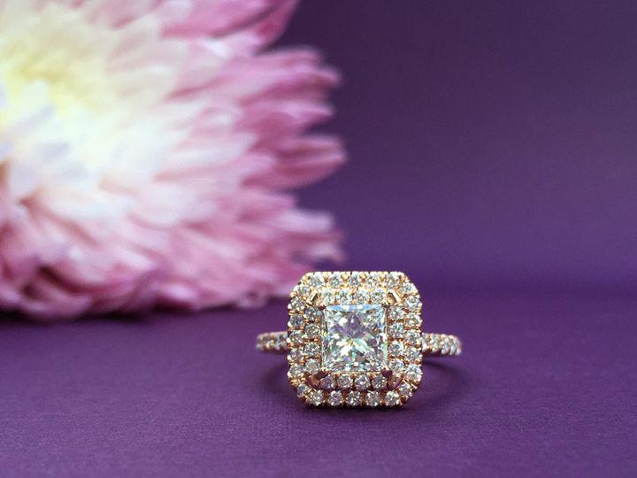 Tmx 1445270846047 Engagement Ring Dallas Princess Cut Dallas wedding jewelry