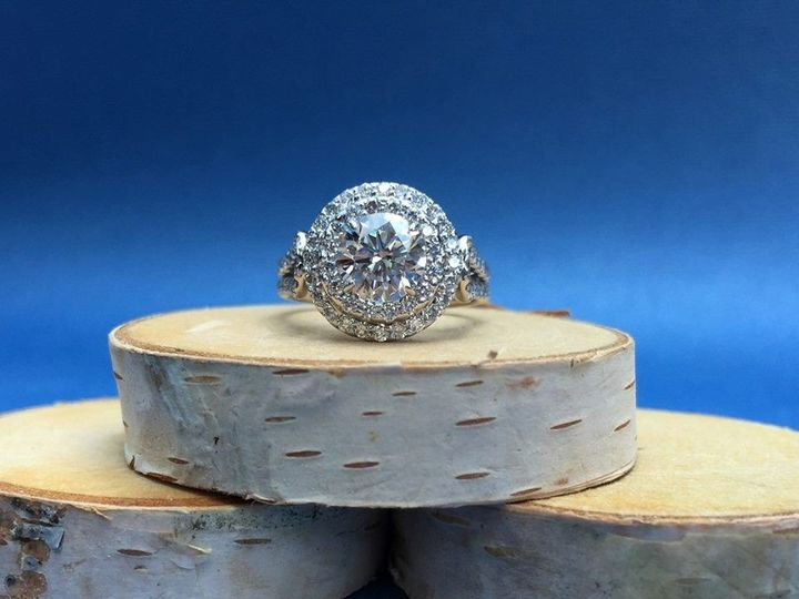 Tmx 1445270856608 Engagement Ring Dallas Round Dallas wedding jewelry