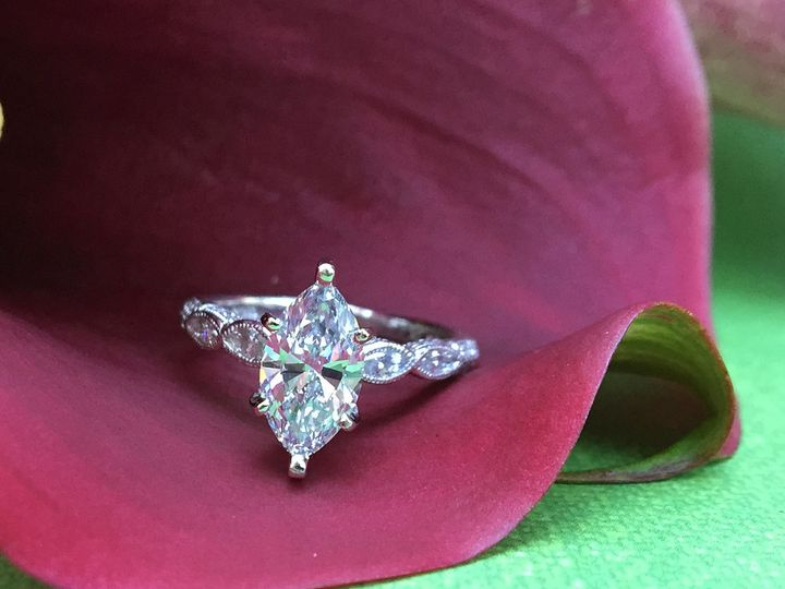 Tmx 1445270898910 Engagement Ring Marquise Dallas Dallas wedding jewelry