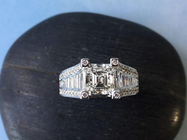 Tmx 1445271507792 Asscher Engagement Ring Dallas Tx Dallas wedding jewelry