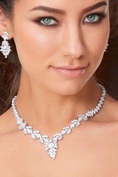 Tmx 1521670178 20a4e4b3fd601238 1521670177 956454cf2db894dc 1521670177617 5 Ferida Necklace 5 Braselton, GA wedding jewelry