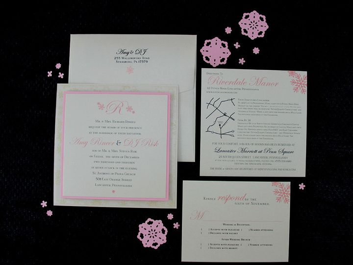 Tmx 1383077819727 Amydjinvitationse Lancaster, Pennsylvania wedding invitation