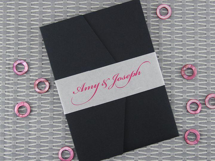 Tmx 1383077832915 Amyjosephinvitationoutsid Lancaster, Pennsylvania wedding invitation