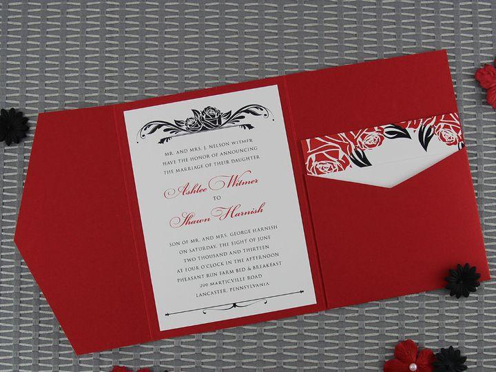 Tmx 1383077863722 Ashleeshawninvitatio Lancaster, Pennsylvania wedding invitation