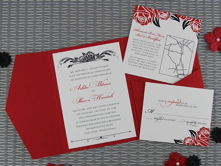 Tmx 1383077871424 Ashleeshawninvitationse Lancaster, Pennsylvania wedding invitation